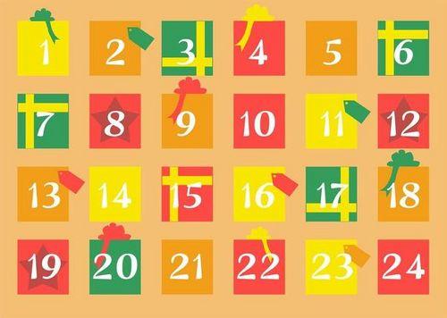 Der HLV-Adventskalender 2019: 24 sportliche Türchen bis Heiligabend.